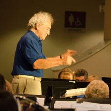 July 9, 2015 concert with guest conductor Jerry Bilik
